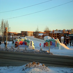 Маленький сибирский городок Урай