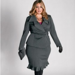 Стильная одежда для пышных дам