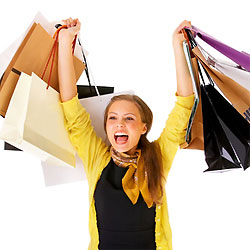 Покупка одежды и обуви для девушки