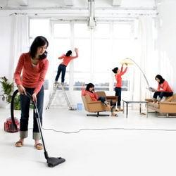 Услуги по уборке квартир и офисов
