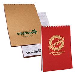 Фирменные блокноты для рекламы