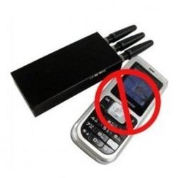 Электронная тишина при помощи глушилок сотовых телефонов