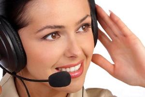 Работа службы поддержки оператора связи