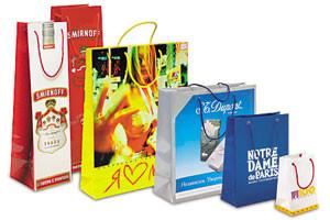 Бумажные пакеты с вашим логотипом