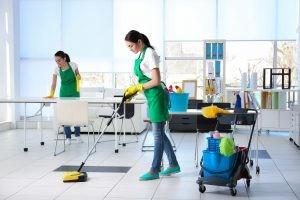 Уборках квартир клининговой компанией