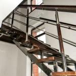 Особенности изготовления лестниц из металла